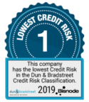 Lowest credit risk 1